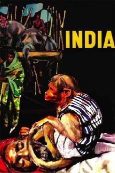 Resultado de imagem para india 1959 poster roberto rossellini