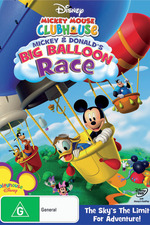 Mickey Mouse Clubhouse: Mickey's and Donald's Big Balloon Race