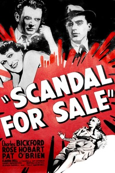 ‎Scandal for Sale (1932) directed by Russell Mack • Reviews, film   cast •  Letterboxd