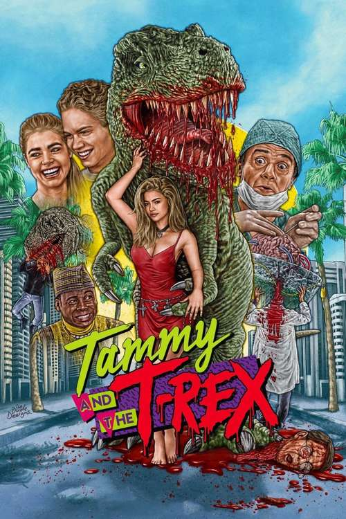 Tammy and the T-Rex movie poster