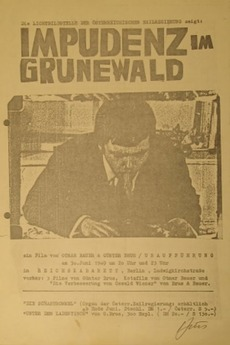 Impudence in Grunewald