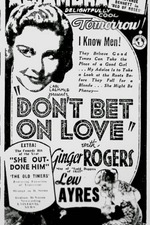 Don't Bet on Love