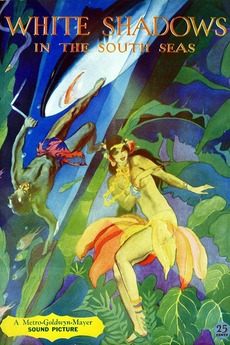 Image result for white shadows in the south seas 1928 posters