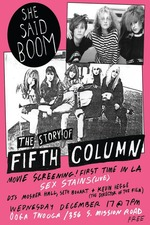 She Said Boom: The Story of Fifth Column
