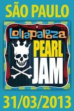Pearl Jam: Lollapalooza Brazil 2013