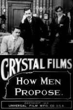 How Men Propose