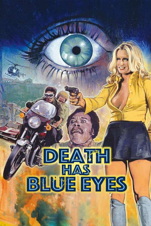 Death Has Blue Eyes movie poster