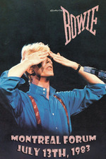 David Bowie - Serious Moonlight Montreal