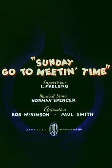 Sunday Go to Meetin' Time