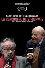 Marcel Ophuls et Jean-Luc Godard, La rencontre de St-Gervais