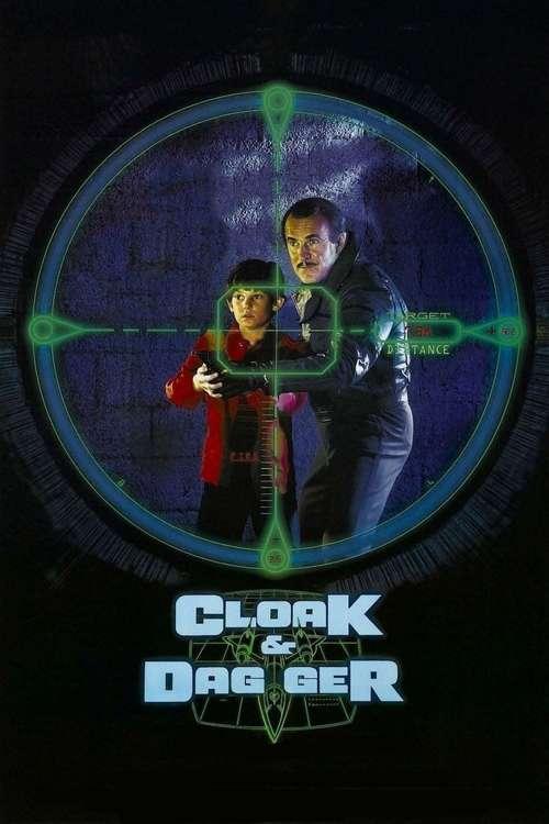 Cloak & Dagger movie poster