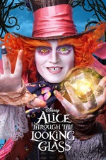 Filmplakat Alice Through the Looking Glass, 2016