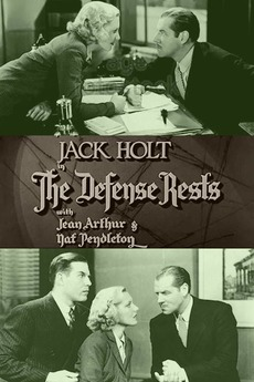 The Defense Rests (1934) directed by Lambert Hillyer • Reviews, film