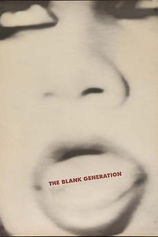 The Blank Generation