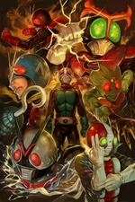 All Together! Seven Kamen Riders!!