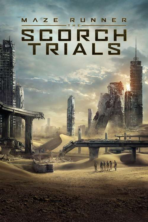Cover Maze Runner_ The Scorch Trials