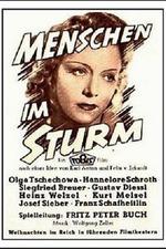 Menschen im Sturm