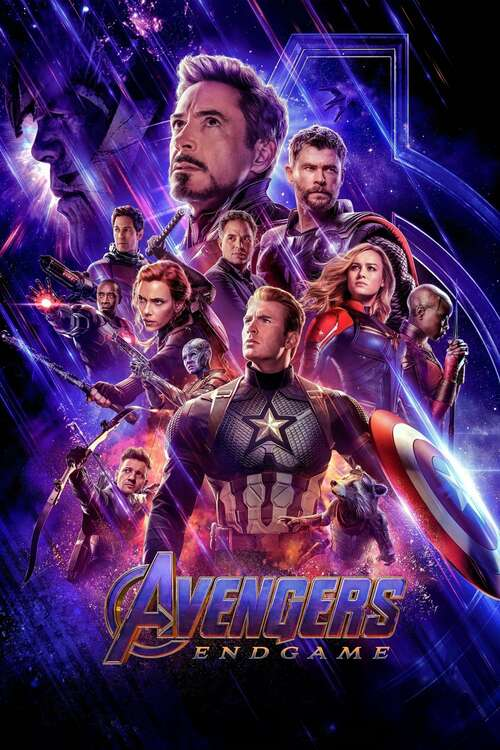 Film poster for Avengers: Endgame