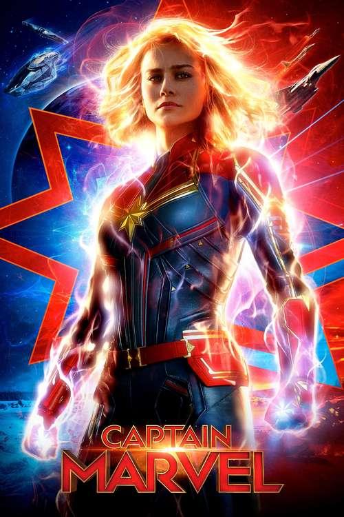 Filmplakat Captain Marvel, 2019