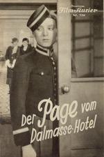 Der Page vom Dalmasse-Hotel