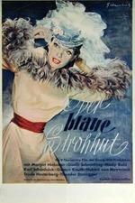 Der blaue Strohhut