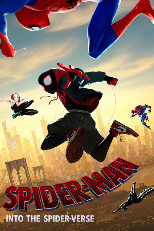 Filmplakat Spider-Man: Into the Spider-Verse, 2018