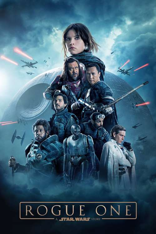 Film poster for Rogue One: A Star Wars Story