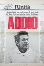 Farewell to Enrico Berlinguer