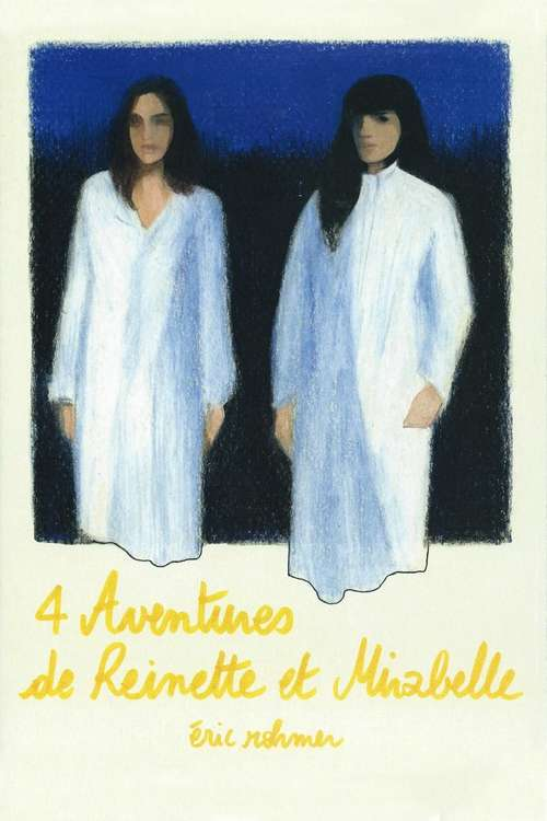 film poster for Four adventures Of Reinette And Mirabelle