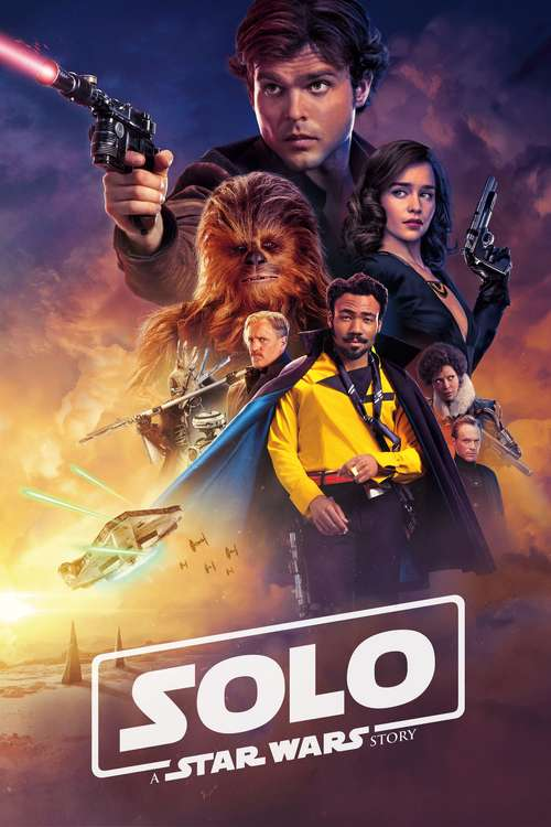 Film poster for Solo: A Star Wars Story