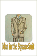 Man in the Square Suit
