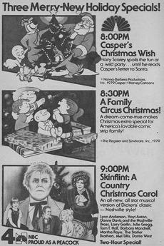 skinflint a country christmas carol - A Country Christmas Cast