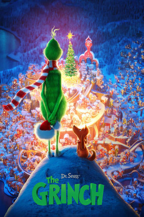 Film poster for The Grinch