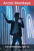 Arctic Monkeys live at Personal Fest