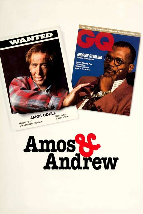 Amos & Andrew movie poster