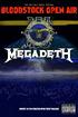 Megadeth: [2014] Bloodstock Open Air