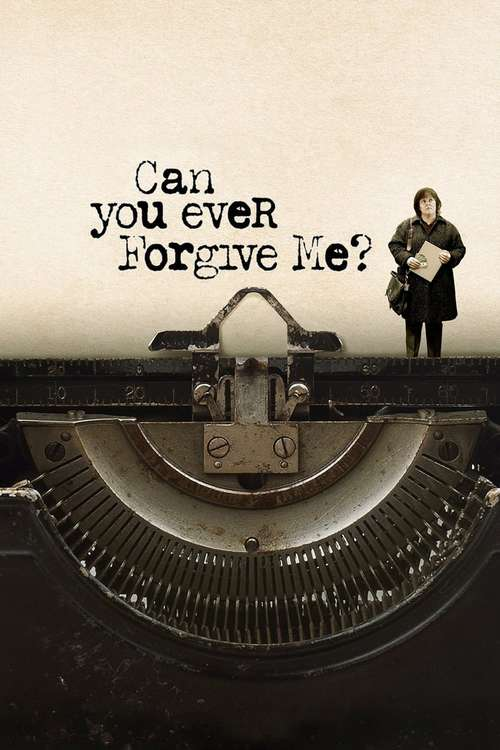 Filmplakat Can You Ever Forgive Me?, 2018