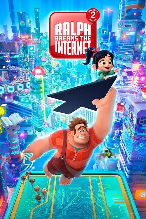 Filmplakat Ralph Breaks the Internet, 2018
