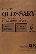 A Computer Glossary