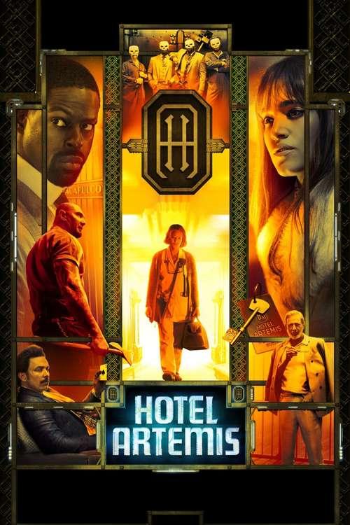 Film poster for Hotel Artemis
