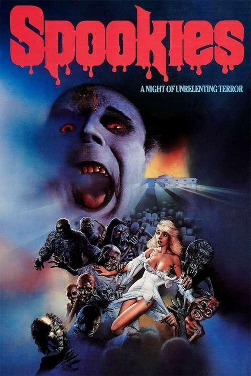 Spookies movie poster
