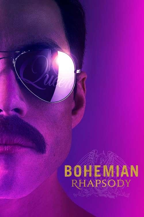 Filmplakat Bohemian Rhapsody, 2018