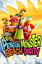 Club Penguin Monster Beach Party