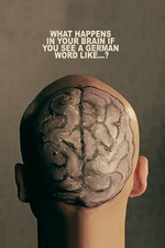 What happens in your brain if you see a german word like...?