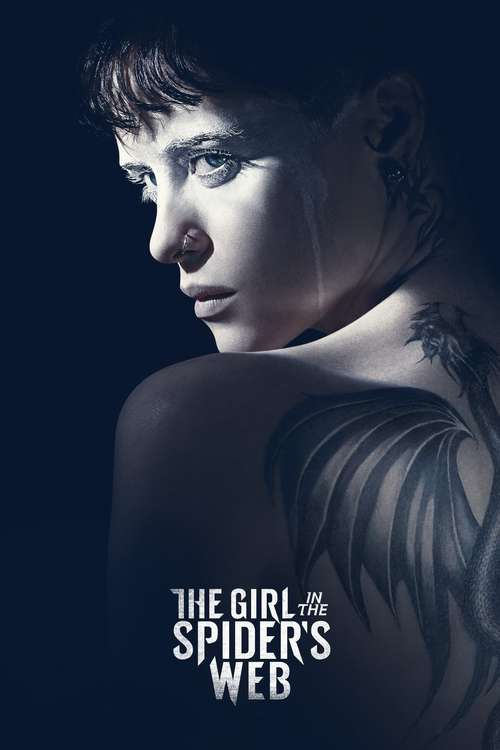 Filmplakat The Girl in the Spider's Web, 2018