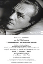 Luchino Visconti, entre vérité et passion