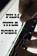 Film Title Poem
