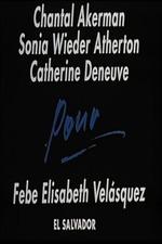 Pour Febe Elisabeth Velasquez, El Salvador
