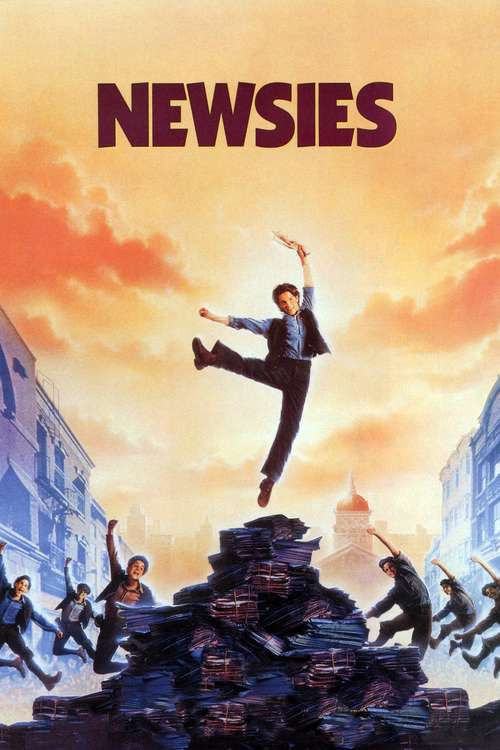 Film poster for Newsies