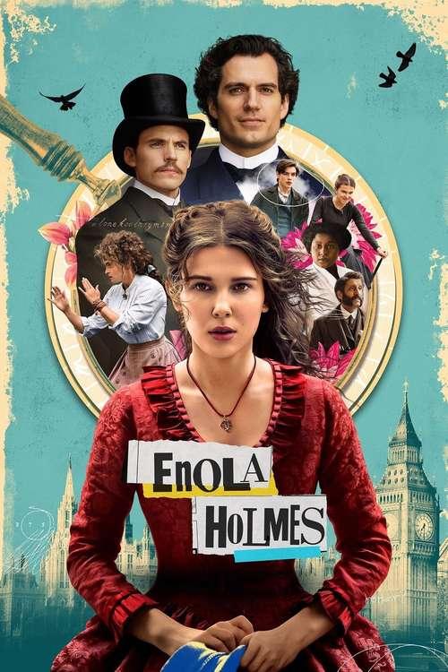 Film poster for Enola Holmes